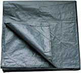 Coleman Footprint For Coastline Four Person Tent Accessory - Black