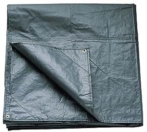 Coleman Footprint For Coastline Four Person Tent Accessory - Black