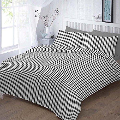 easycare-polycotton-144-thread-count-printed-duvet-cover-set-sleepbeyond-black-stripes-single