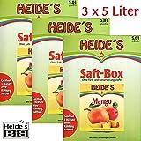 Mango-Nektar 35% Fruchtanteil 3er-Pack, 3 x 5 Liter
