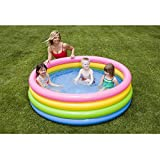 Intex 56441NP - Planschbecken 4-Ring Pool Sunset Glow