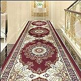 TongN Tappetino per corridoio su Misura per corridoi Home Aisle Mat, Soft And Cuttable (Colore : C, Dimensioni : 60 * 250cm)