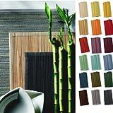 sander SPARSET 4 Tischsets BAMBOO 33x48cm Bambus Farbe wählbar (16 - aqua)