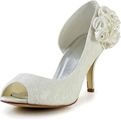 JIA JIA Wedding 839011 Scarpe Sposa Scarpe col Tacco Donna
