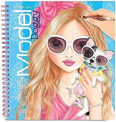Depesche - Top Model Doggy, cuaderno de pegatinas