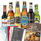 Biersorten aus aller Welt | Bier Set für Männer | Geschenkidee