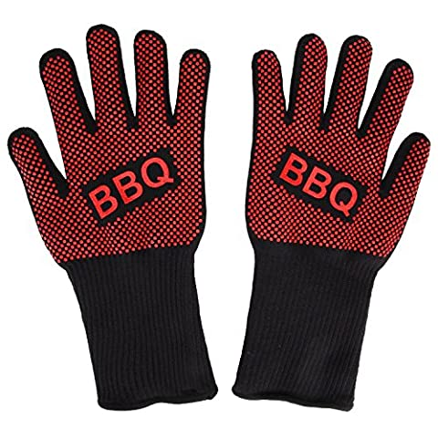 Gant de cuisine, Irady BBQ Hot Cooking Gants de Four