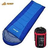 Semoo Schlafsack - Deckenschlafsack - 3-Jahreszeiten-Schlafsack - 180 x 75 cm - Mehrere Farben zur Auswahl