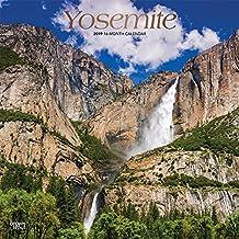 Yosemite - Yosemite National Park 2019 - 18-Monatskalender mit freier TravelDays-App: Original BrownTrout-Kalender