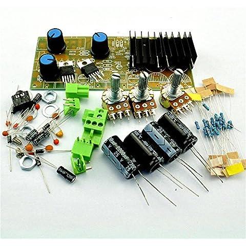 Tda2030un amplificatore TDA2030un kit di alimentazione scheda di amplificatore a due canali DIY TDA2030A PARTI