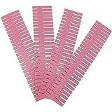 Mumusuki 4 Pezzi/Set Fai da Te griglia in plastica organizzatore cassetto divisore Regolabile divisori divisori Separatori Ar