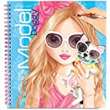 Depesche - Top Model Doggy, cuaderno de pegatinas