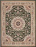 Teppich Klassisch Gemustert Orient Ornamente Königlich Muster in Grün (200x300 cm)