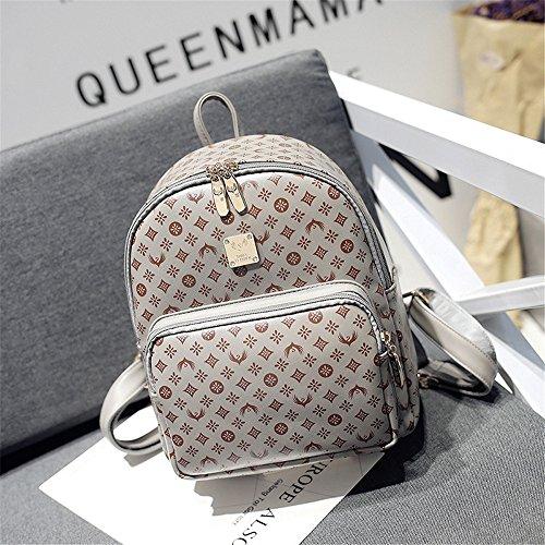 La sig.ra dual borse a tracolla di studenti' schoolbags elegante dual borse tracolla zaino per il tempo libero lo stile di vita selvaggia sacchetti, sez. B A