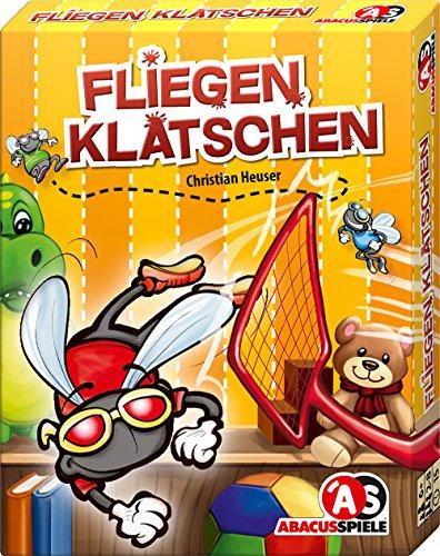 ABACUSSPIELE 08157 - Kartenspiel - Fliegen klatschen