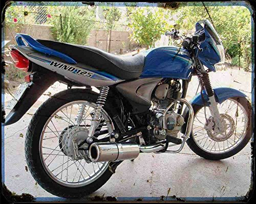 bajaj-wind-125-05-02-a4-photo-print-motorbike-vintage-aged
