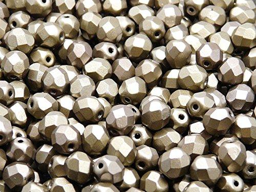50pcs-czech-fire-polished-beads-round-6-mm-grey-rainbow-matte