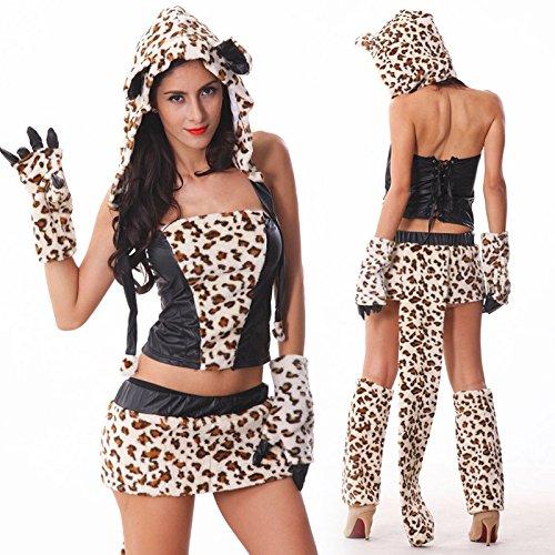 Kostüm Girl Leopard - CYY Leopard-Girl Die Katze und der Bräutigam Halloween Weiblich Adult Kleidung Cosplay Diskothek Nacht Bar Performance-Anzug