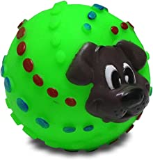 JeewanpetDog Squeeze Ball (Large)/Dog Toy/Ball Toy/pet Toy/Imported Toy Colour Many BE Vary