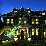 OUTTUO Proiettore Stella Lampada LED a Scena Luci Dinamico Impermeabile IP65 per Esterno Giardino Decorazione Party Festa Halloween Natale