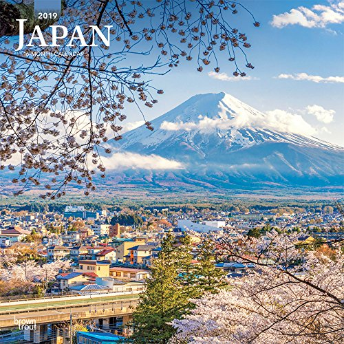 Japan 2019 - 18-Monatskalender mit freier TravelDays-App (Wall-Kalender)