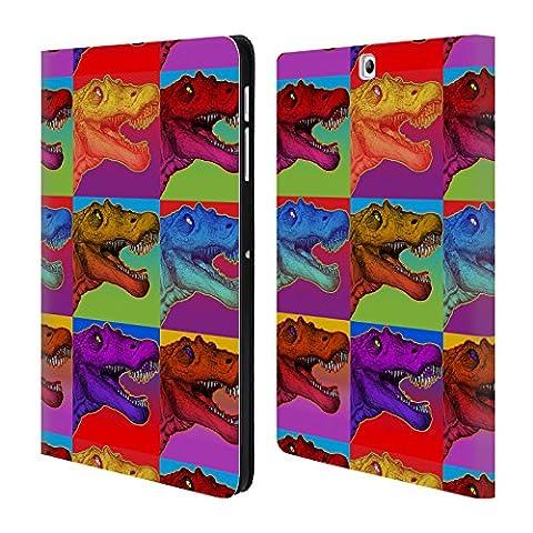 L Officiel Art - Officiel Howie Green Pop Art 2 Dinosaures