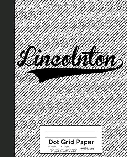 Dots Boys Band (Dot Grid Paper: LINCOLNTON Notebook (Weezag Dot Grid Paper Notebook, Band 3223))