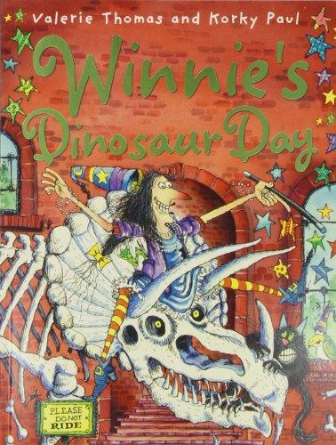 Winnie's dinosaur day