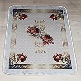 Brillant Teppich Teppich 50 x 80 cm Rutschfest Pflegeleicht Top Qualität Mercan 802