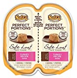 NUTRO PERFECT PORTIONS Adult Cat Soft Loaf Turkey Recipe Cat Food Trays by Nutro