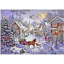 Fastar 5d pintura de diamante Diy punto de cruz en resina decoración de casa salón dormitorio DIY Kits de punto de cruz de punto de cruz en 30x40cm de Navidad Decor