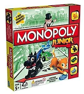 Monopoly Hasbro Gaming - Juego de Mesa Junior (A6984190) (versión Portuguesa)