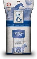 Mühldorfer Futter für Sport- und Freizeitpferde, Linderung von Magenproblemen und -erkrankungen, Mucovital prebiotic