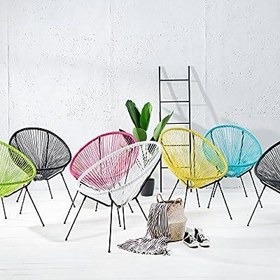 Moderner Designklassiker ACAPULCO Sessel FARBWAHL