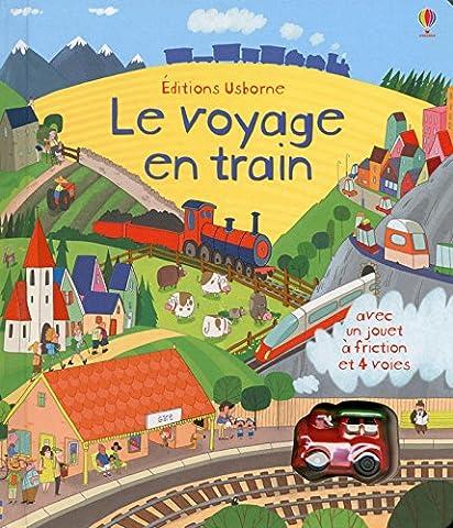 Le voyage en train - Livres avec jouet à friction