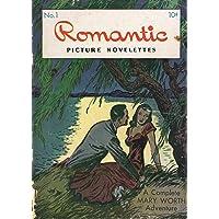 POSTER comics cover Magazine Enterprises Romantic Picture Novelettes 1 1946 Vintage Wall Art Print A3 replica