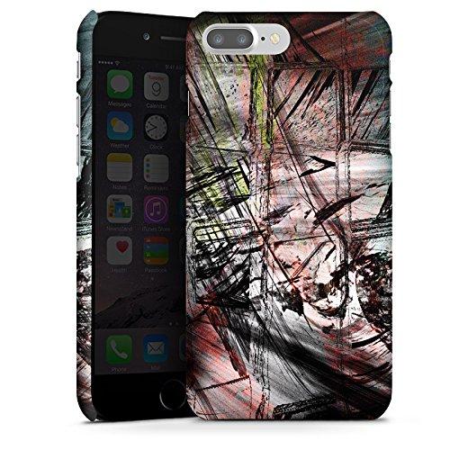 Apple iPhone X Silikon Hülle Case Schutzhülle Grunge Abstrakt Graffiti Premium Case glänzend
