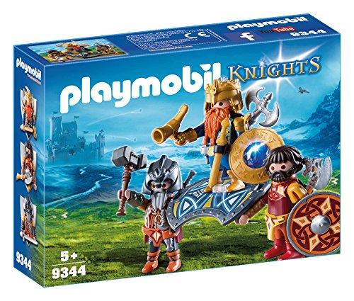 Playmobil Knights 9344 Niño Kit de Figura de Juguete para niños - Kits de Figuras de Juguete para niños (5 año(s), Niño,, Acción / Aventura, Caja Cerrada, 3 Pieza(s))