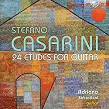 Casarini-24 Etudes for Guitar