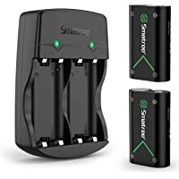 Smatree Batteria per Xbox One / Xbox Series X / Series S, Batteria Ricaricabile e Caricabatterie da Batteria Doppio per…