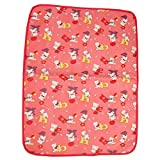 #4: Gurukripa New Born Baby Bed Protector Waterproof Multipurpose Changing Mat Plastic Sheets Baby Changer Sheet Cotton Foam Cushioned Sleeping Mat & Changing Mat Unisex, 0-9 Months, Pack of 1 (Red)