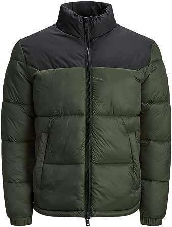 Jack & Jones Men's Jjdrew Puffer Collar Jacket