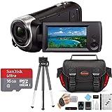 Sony HDR-CX240/B Entry Level Full HD 60p Camcorder Black Kit