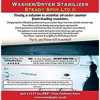 Washing Machine Anti-Vibration Stabilizer Pad - SteadySpin
