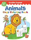 Colouring Book of Animals: Creative Crayons Series - Crayon Copy Colour Books