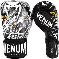 Venum Dragon'S Flight Guantes de Boxeo, Unisex Adulto, Negro/Blanco, 12oz