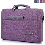 TechCode®15.6 Zoll Laptop Schultertasche / Briefcase , Multifunktionale Laptop-Hülsen-Beutel-Bügel-Abdeckungs-Fall für 11.4 Laptop and Tablet Computers - Macbook Air/ Macbook Pro / Pro Retina(15.6 inch, A03)
