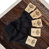 Rob & Dave's Mi-Chaussette Unisexe - Mid Cut - (5 paires, Chaussettes Hommes/Chaussettes Femmes) Label TOP OEKO-TEX® - Chaussette de marque sans coutures - Eté comme hiver, des chaussettes confort