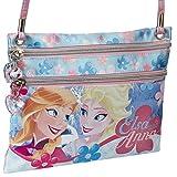 Disney Frozen Borsetta Tracolla Bustina Elsa E Anna Forever 21 Cm