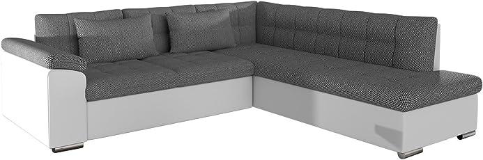 Mirjan24 Moderne Ecksofa Sedi Bis, Design Eckcouch Mit Schlaffunktion Und  Bettkasten, Ecksofa Für Wohnzimmer
